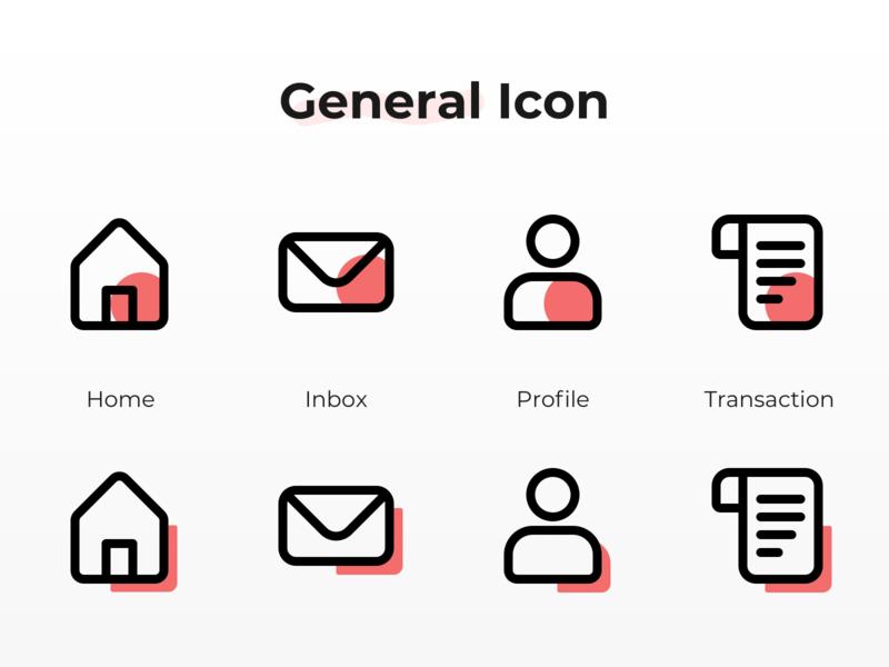 General Icon Exploration duotone icon duotone transaction profile inbox home inbox icon transaction icon profile icon home icon fintech icon general icon icon fintech