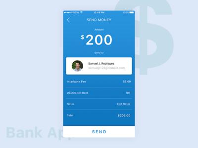 Bank App Send Money