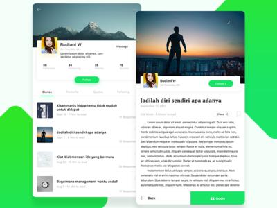Exploration #1   Stories App