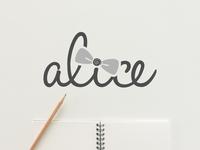 Alice Logo Design