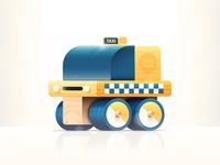 Toys - Taxi