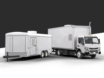 Rigs Built Right - Final 3d Renders materials lighting render polylevel foam 3d trailer truck rig