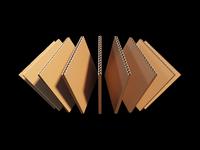 Material testing - cardboard