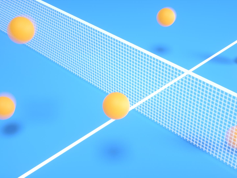 pingpong pingpong sports graphicdesign branding dynamic illustration design