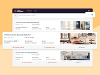 Property Dashboard - List View