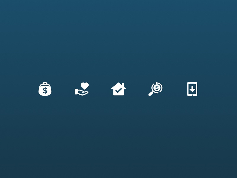 Finances icons icons proptech property startup australia .sketch real estate illustration product design ui