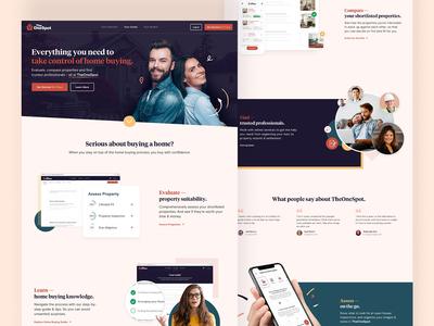 TheOneSpot Homepage