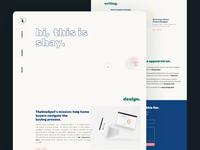 Portfolio 2020 - Homepage