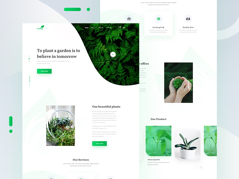 Seedling Web Template By Sujan Baidya