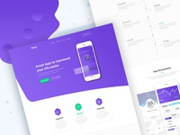 Terry App Landing Page