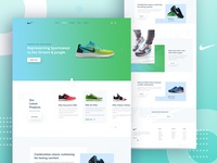 Nike- Homepage concept