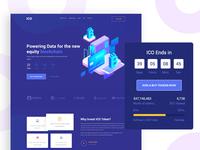 ICO- Landing Page