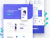 Ake- App Landing Page