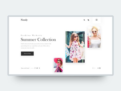 E-commerce  Header Exploration