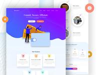 InvestCo- Landing Page