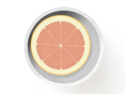 The Breakfast Series No 3 - Grapefruit