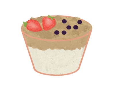 The Breakfast Series No 4 - Granola & Yogurt