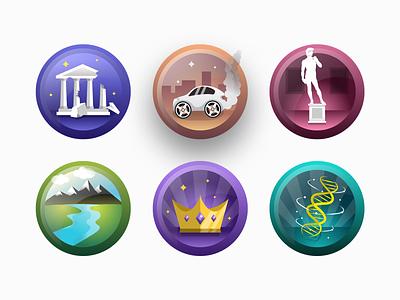 Vector Icon / Badge Design iconography graphic icons colorful illustration art illustrator icondesigner icondesign iconography icon set ios icon icon icon design iphone design vector illustration