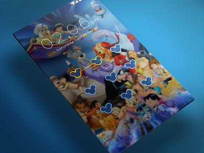 Lock Screen design ui screen application app android