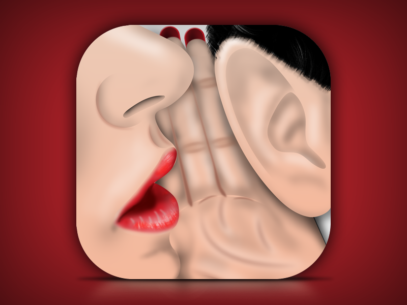 App Icon for Adult Couple Game 3d design iphone icon design ios icon ios
