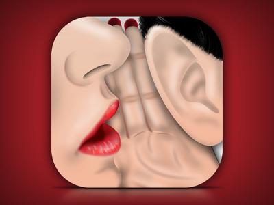 App Icon for Adult Couple Game 3d design iphone icon design ios icon ios