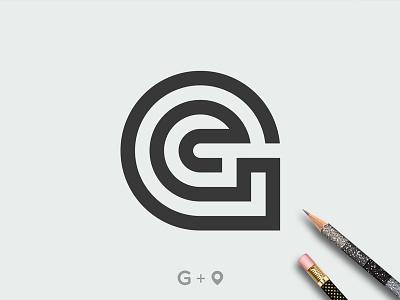 Logo design pin design pin pointer monogram letter mark letter g monogram design monogram logo logotype logo design branding design vector logo