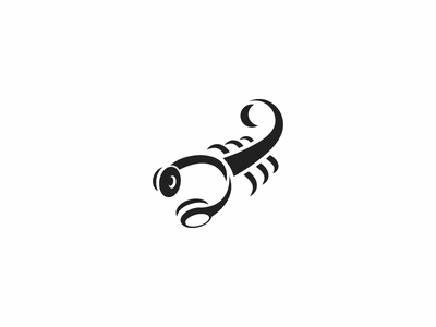 Logo Design - Scorpion Sound logotypes logotypedesign logotype designer logotype design music logo scorpion logo headphones headphone music art music scorpio scorpion logos logo design logodesign logotype design vector illustration logo
