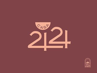Casa 2424 | Cervecería cervecería logo logo design beer