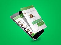 ICQ App Redesign Concept 2