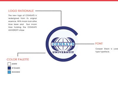 Comsat University LOGO 2 design logodesign redesign logo modern logo logo designing logo design logo dribbble wilirax designs wilirax