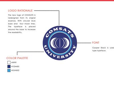 Comsat University LOGO 3 modern logo logo designing logo design logo design dribbble wilirax designs wilirax