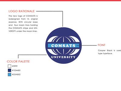 Comsat University LOGO 4 redesign concept redesign modern logo logo designing logo design logo design dribbble wilirax designs wilirax