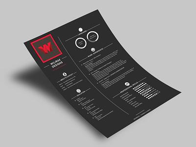Wilirax Cv Free modern cv wilirax designs wilirax free template resume design freebies free cv