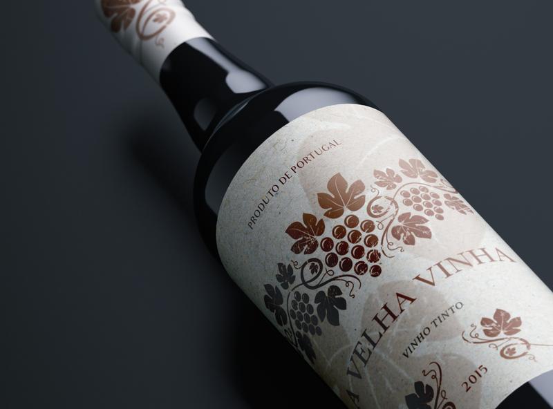velha vinha wine label wine label label label design brand identity brand design branding design