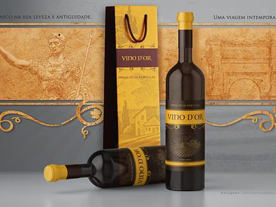 vinodor02 designer wine label branding design