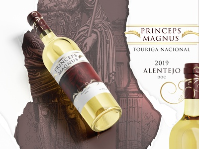 prince Mockup 1 designs designer label label design wine label branding logo design