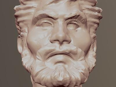 Nomad first 3D test digital sculpture digitalart 3d art 3d