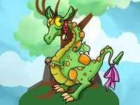 Mila the Lady Dragon