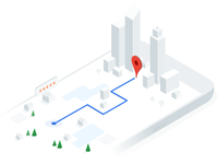 Google Maps API homepage illustration