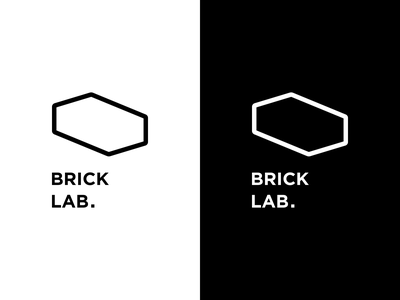 Brick Lab. logo logo design