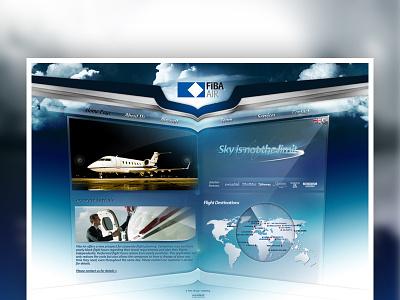 Fiba Air Official Web Site aviation fibaair air plane airplane blue sky clouds brush abstract breve pilot