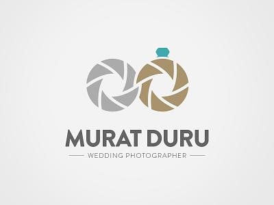 Murat Duru | Wedding Photographer Logo logo wedding photographer murat duru fotografci