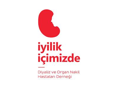 İyilik İçimizde organ transplanting iyilik icimizde negative space health logo