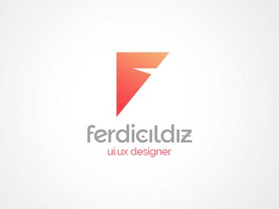 FerdiCildiz Personal Logo ferdicildiz personal logo corporate identity logotype logo