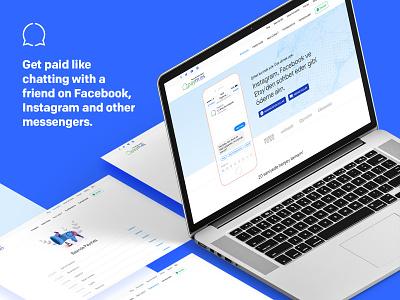 Paym.es - AI Chatbot Payment System responsive website online shopping startup fintech e-commerce payment system chatbot ai