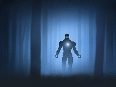 Tracking mechanical tree armor light forest jungle limbo stark tony ironman