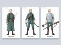Character illustration - World war I - German Empire