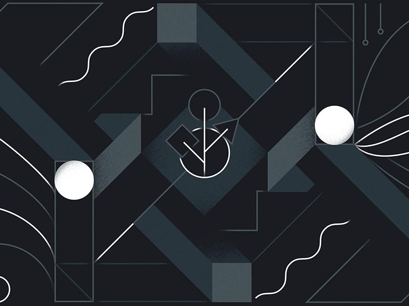 Growth & Life: Collaboration design geometric the furrow growth  life