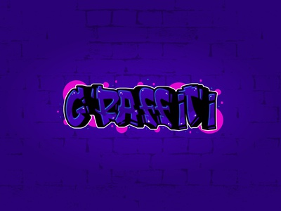 Graffiti Text - Adobe Illustrator Tutorial typogaphy typeface illustrator vector artworks vector artwork illustration vector art vector text effect text graffiti digital graffiti art graffiti