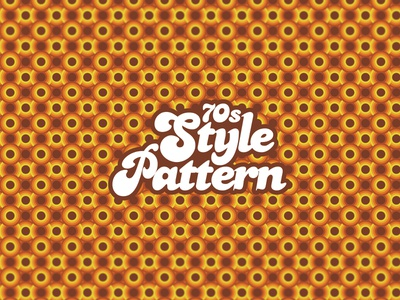 Seamless 70s Style Pattern - Adobe Illustrator Tutorial design illustration vector artwork vector artworks 70sdesign patterns vector art vector pattern design pattern art pattern